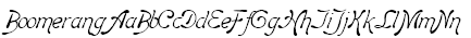 Boomerang Font