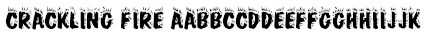 Crackling Fire Font
