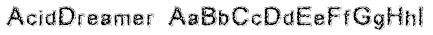 AcidDreamer Font