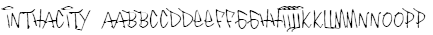 InThaCity Font