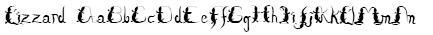 Lizzard Font