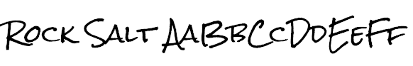Rock Salt Example