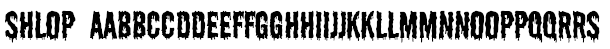 Shlop Font
