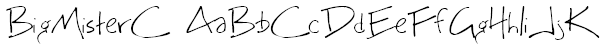BigMisterC Font