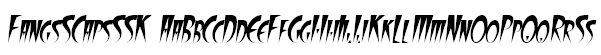 FangsSCapsSSK Font