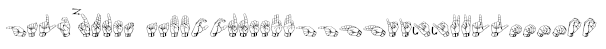 Gallaudet Font
