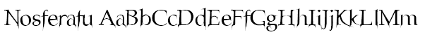 Nosferatu Font