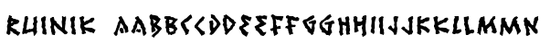 Ruinik Font