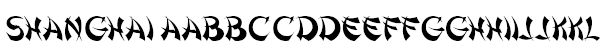 Shanghai Font