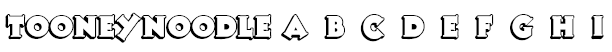 TooneyNoodle Font