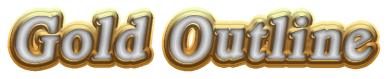 Gold Outline Logo