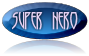 Super Hero Button Logo