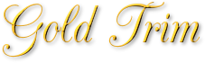 Gold Trim Logo